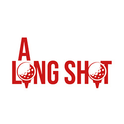 A Long Shot Logo Landscape